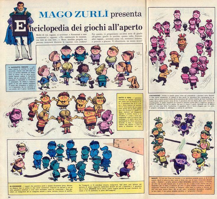 Corrierino e Giornalino: Mago Zurlì presenta l'Enciclopedia dei giochi all'aperto