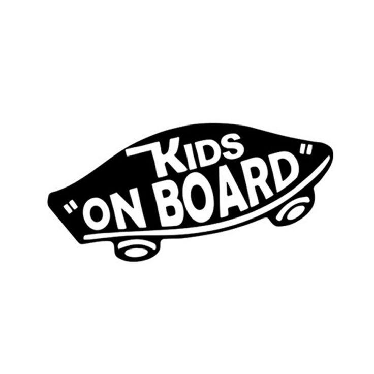 KIDS INSIDE Funny Novelty Car//Van//Bumper//Window//Door Vinyl Sticker//Decal
