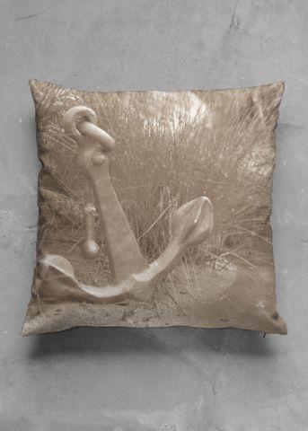 vintage accent pillow, made from my photo/art @marikakk