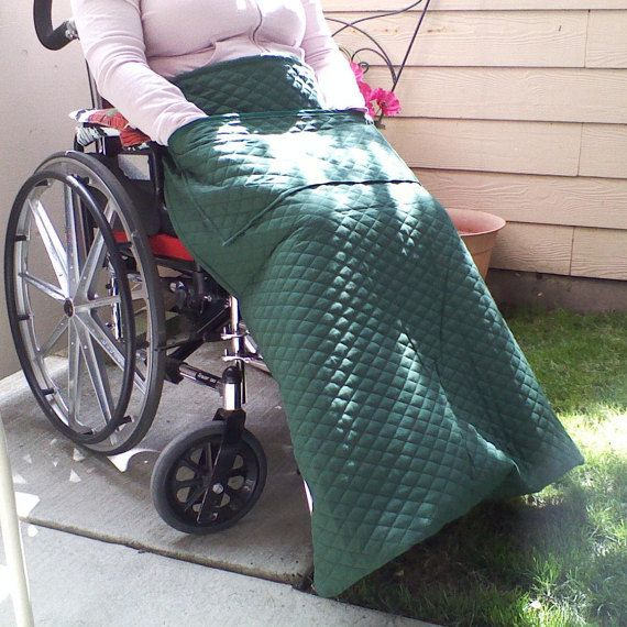 Wheelchair Blanket Power Chair Lap Blanket.Handmade by ClineCovers