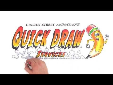 Quick Draw Services is the only place to get quality custom whiteboard videos! Is your company in dire need of a marketing video that gets results? We create white board videos that grab and keep the attention of your audience. Let us put the power of OUR drawing behind YOUR message. www.QuickDrawServices.com