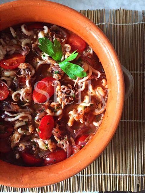 SLELLY: PAPRIKALAMARO - Ciuffetti di calamaro alla paprika...