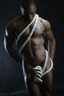 nude sexy men tied uo