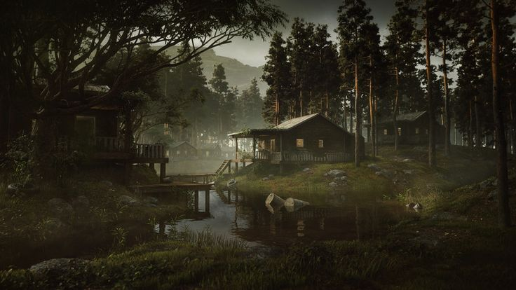 Redshift Swamp - GPU Rendering Test 5 by Greg Zdunek