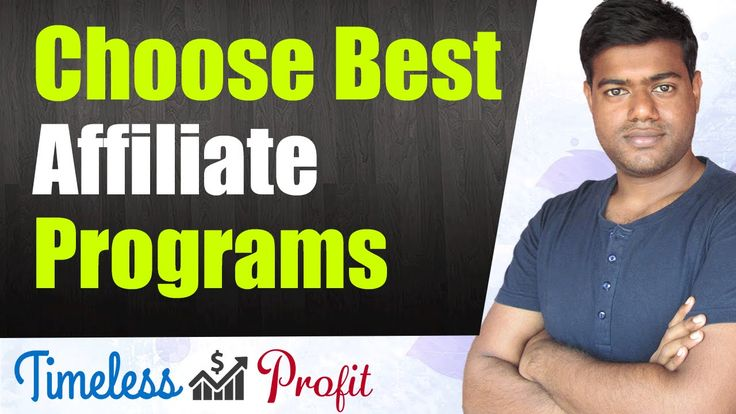 Best Affiliate Marketing Programs - How To Choose Them | Timeless Profit https://youtube.com/watch?v=COFNvcvVjKI