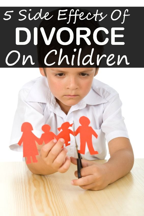 an analysis of the effects of getting a divorce on children