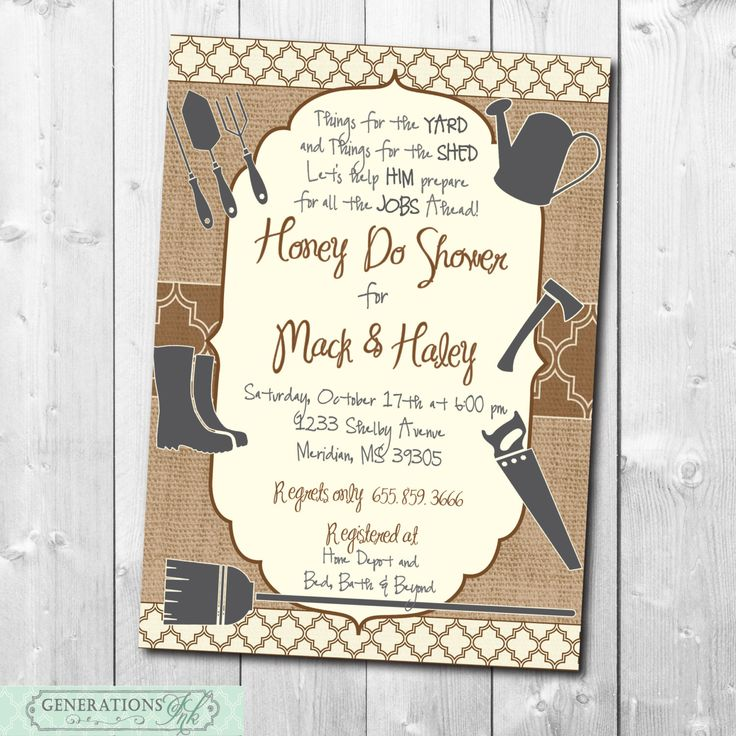 honey couples bridal shower