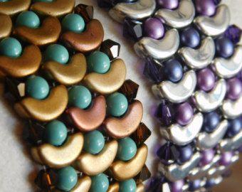 Beaded Bracelet Tutorial Beading Bracelet Pattern by poetryinbeads