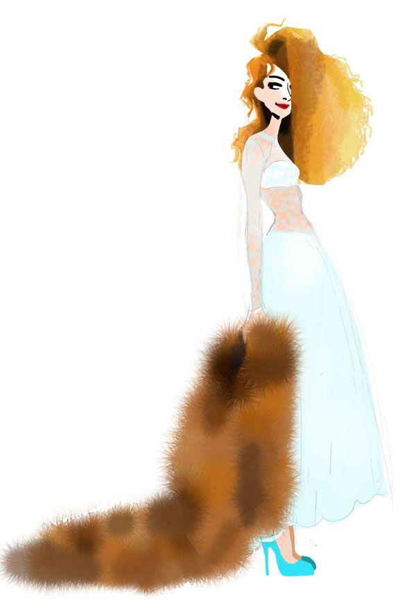 Ginger jones by Margaux Motin