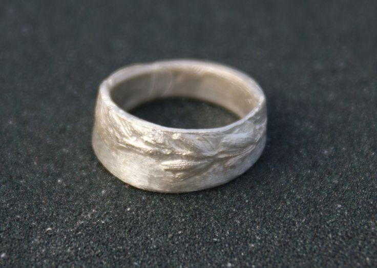 lawenda silver clay ring