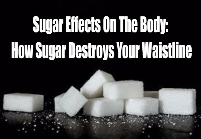 Sugar Effects On The Body: How Sugar Destroys Your Waistline http://exerciseandnutritiontips.com/sugar-effects-on-the-body/