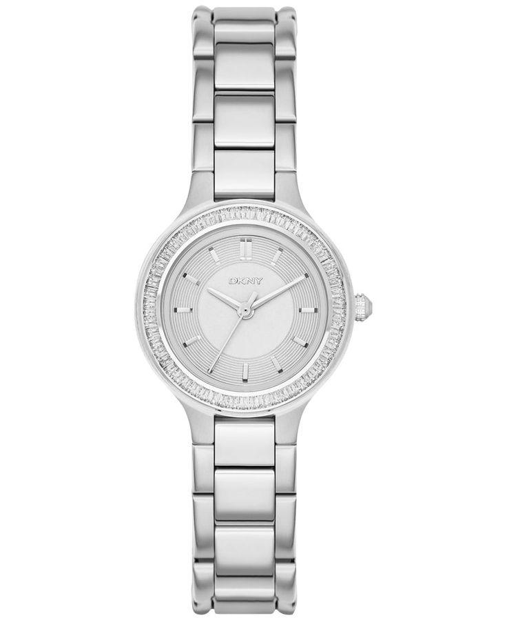 Dkny Women's Chambers Stainless Steel Bracelet Watch 28mm NY2391
