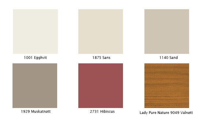 Disse fargene bør du velge til hytta  