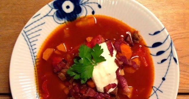 En god og fyldig suppe til den kolde tid. Suppen smager næsten endnu bedre dagen efter, når den har trukket smag, så lav bare rigelig...