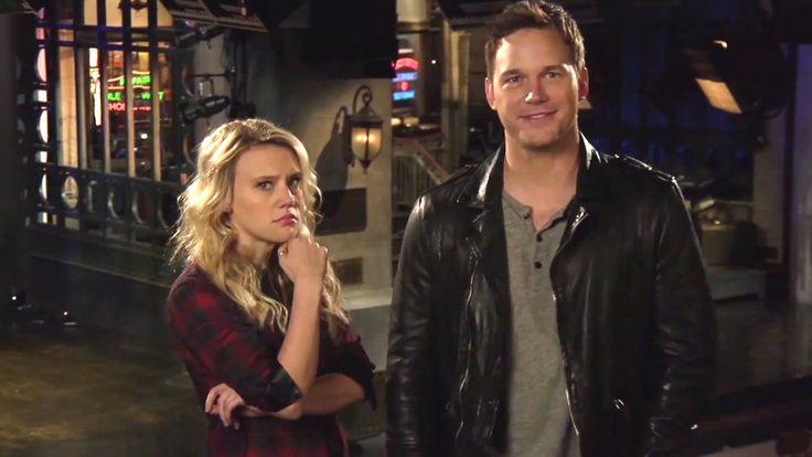 Chris Pratt kicks off 'Saturday Night Live' laughs early with season premiere promos
