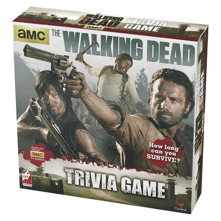 Walking Dead Trivia Game, Board Game
