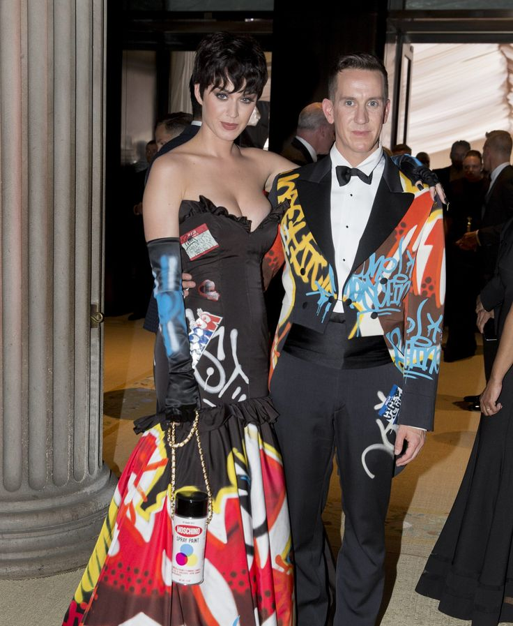 Katy Perry in Moschino at the Met Gala 2015