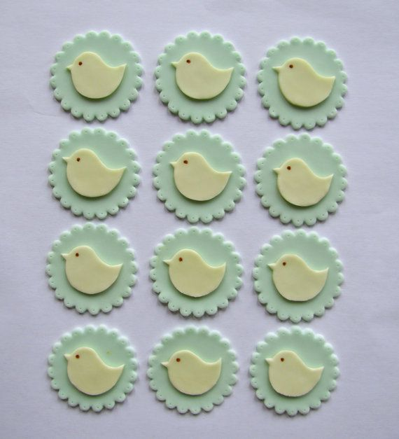 Gender neutral baby shower cupcake toppers Baby Shower ...