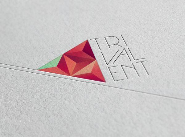 Trivalent Brand Identity on Branding Served . Graphic Design . Logo . Triangle