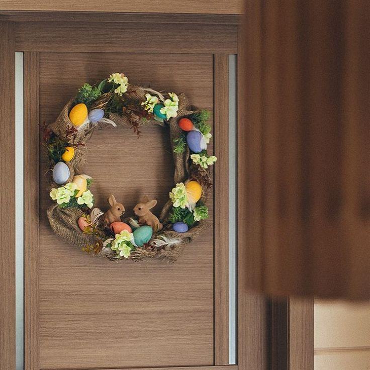 26 отметок «Нравится», 5 комментариев — Мастерская флористики и декора (@masklass.spb) в Instagram: «Всю радость светлой Пасхи мы отразили в нашем пасхальном венке, выполненном из соломы и…»