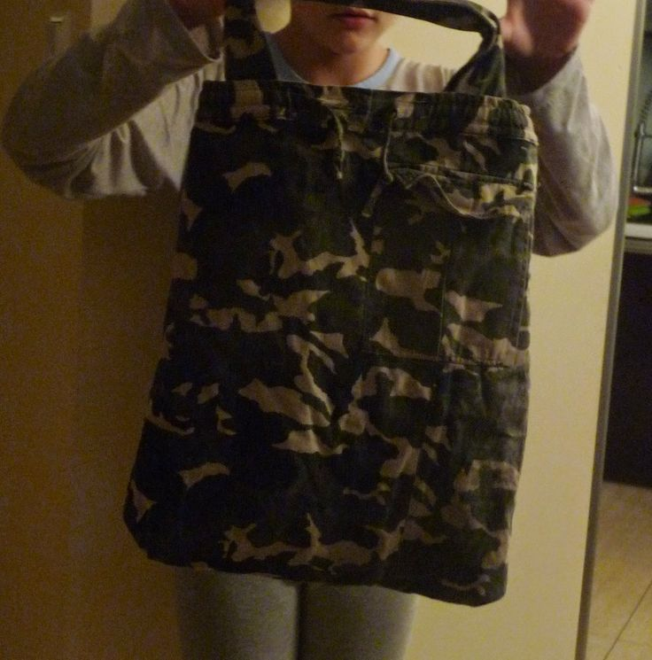 shopping bag - recycling of the old cloths