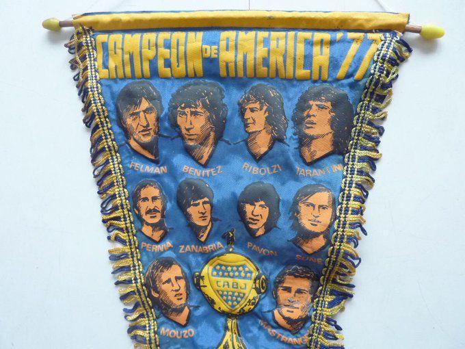 Banderín Campeón de América 1977