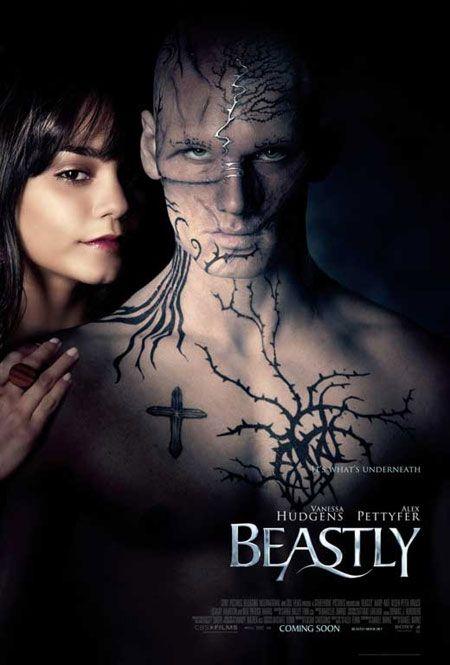 Beastly Movie Poster | Bem, eu acho que vale a pena assistir, ainda não tive a oportunidade ...