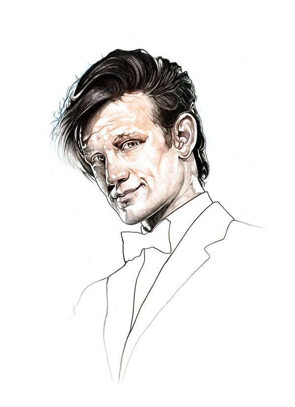 Doctor Who by Corbyn S. Kern, via Behance