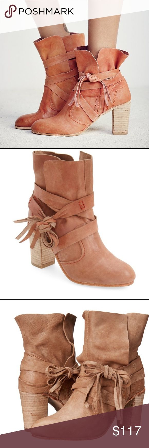 Free People seven wonders heel boots brick. Sz 8 Sold out in stores. Bought these after stopping someone on the street who was wearing them. They are ridiculous. I get so many compliments, but they run a tad small so I find I don't wear as often.:( Will trade for 8.5 as well. Like new. Bundles Free People Shoes Heeled Boots