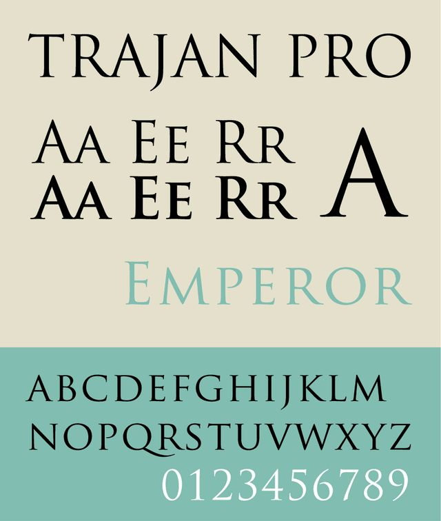 25+ beste ideeën over Trajan font op Pinterest - Game of Thrones - font to use for resume