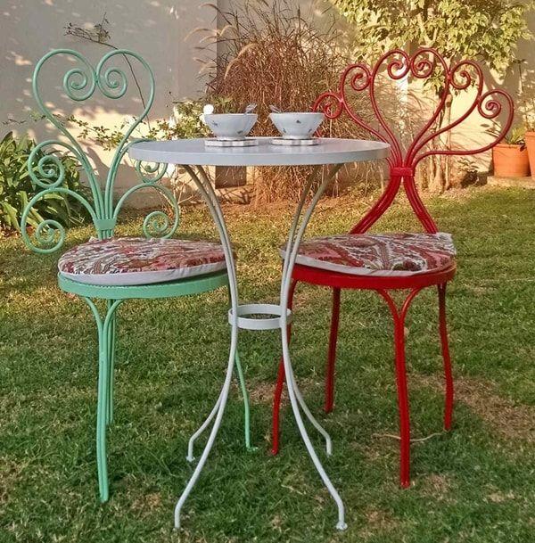 M s de 25 ideas fant sticas sobre decoraci n de hierro for Sillas y sillones de jardin