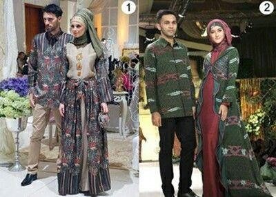 20 best Gamis Batik images on Pinterest  Batik dress Batik