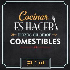 COCINA, AMOR Y ALGO MÁS:     La cocina como el amor tiene recetas y trucos ...