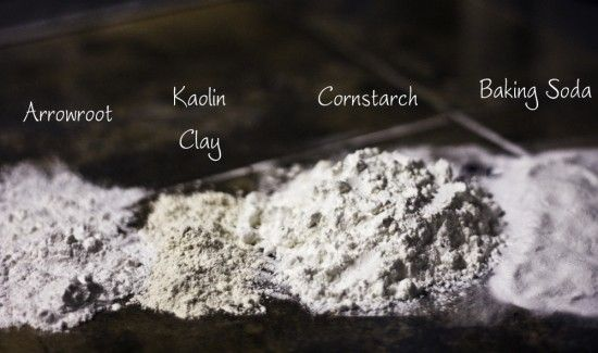 Homemade Dusting Powders (How-to), courtesy of Crunchy Betty. I'd love to do this using my kinmokusei essential oil... and I can think of several other scent combos I'd like to tackle, too!