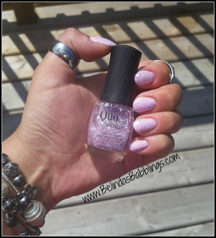Wearing Quo by Orly Abstract