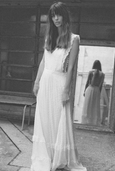 20 vestidos de novia con plumeti 2017 a los que no te podrás resistir. ¡Toma nota! Image: 2