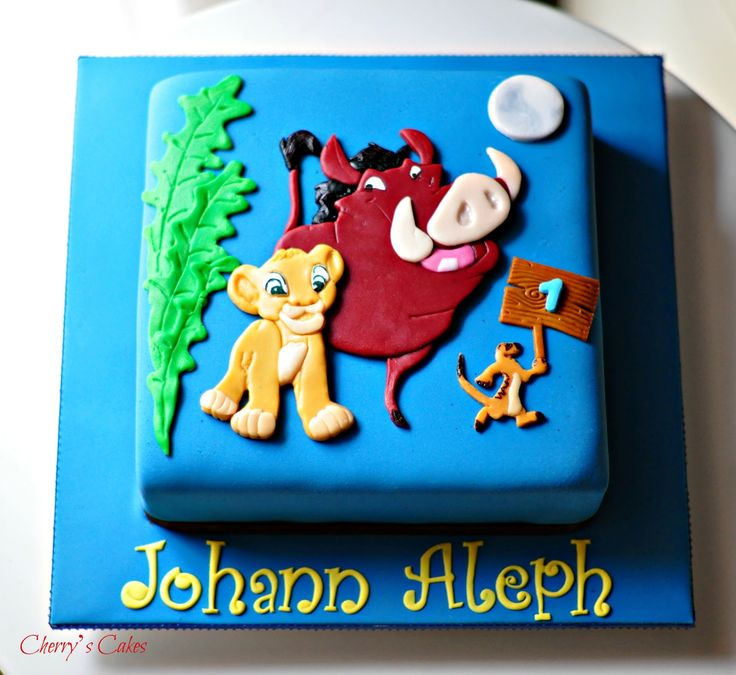 17 Best images about lion king cake on Pinterest Cherries