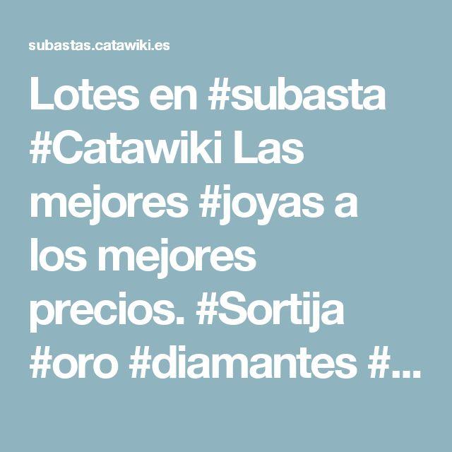 Lotes en #subasta #Catawiki  Las mejores #joyas a los mejores precios.  #Sortija #oro #diamantes #perla #zafiro