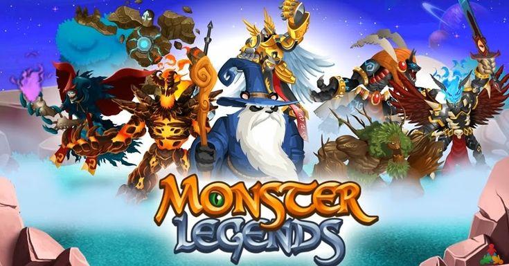 Monster Legends mod money,