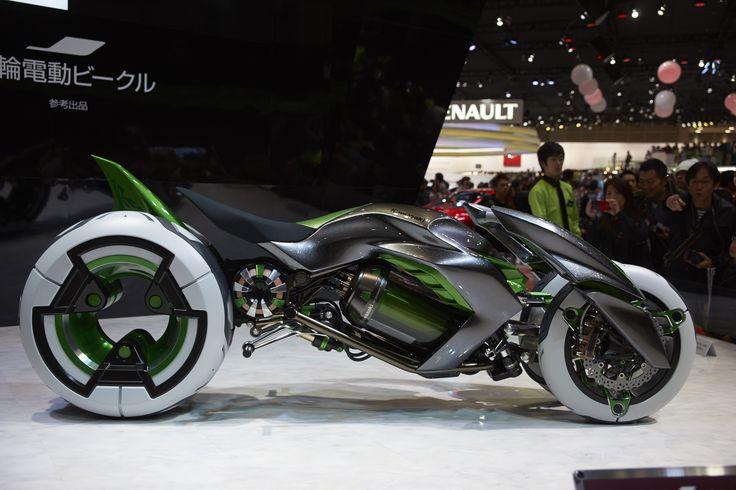Kawasaki J Concept @ Tokyo Motorcycle Show 2013
