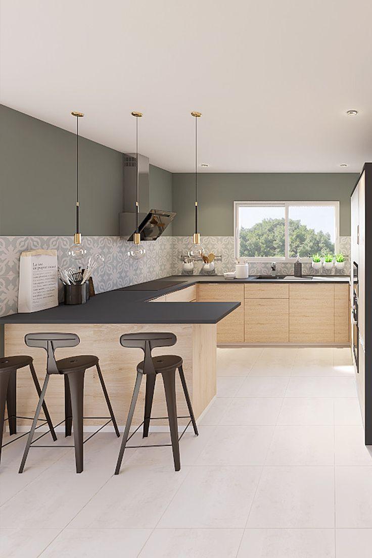 Marion 9D Project  Deco cuisine moderne, Décoration salon cuisine