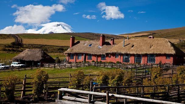 Hacienda El Porvenir. Volcano views from the 4,500 hectare working cattle property.