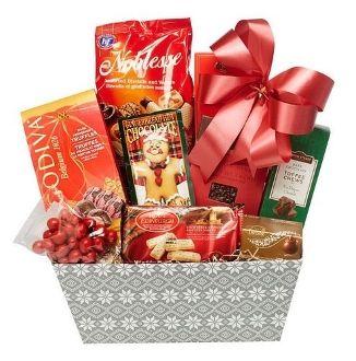 Winter Wonderland Gift Basket
