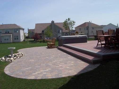 38 best paver patio images on pinterest decks backyard patio