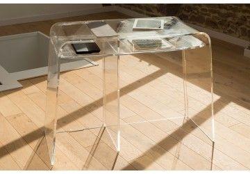 Bureau pure inspiration plexiglass pinterest