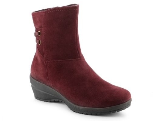 Women's Studio B by Blondo Mercedes Wedge Bootie - Burgundy