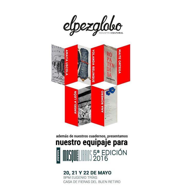 ROPA TENDIDA fanzine en Más que libros, feria internacional de libros de artista de Madrid. Estaremos del 20 al 22 de Mayo en el stand de El pez globo.  https://www.facebook.com/events/184274651967839/