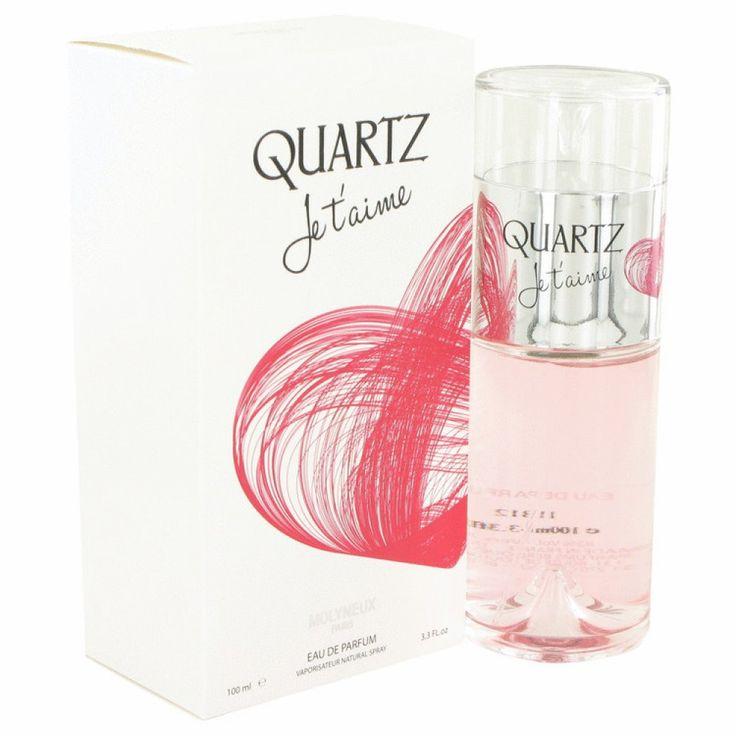 Quartz Je T'aime By Molyneux Eau De Parfum Spray 3.3 Oz