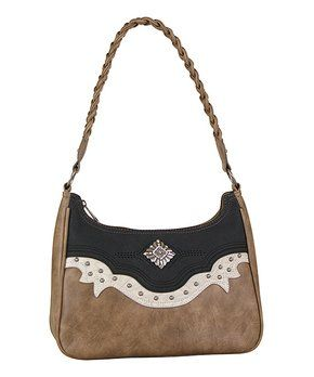 Tan   Bone Way West Satchel  44411df50e