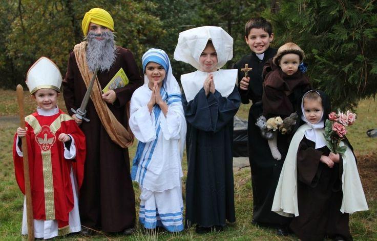 Ognissanti vs Halloween: il parroco invita a vestirsi da Santi